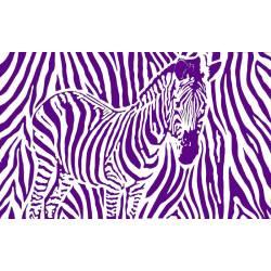 zèbre violet