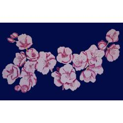 Cerisier bleu marine