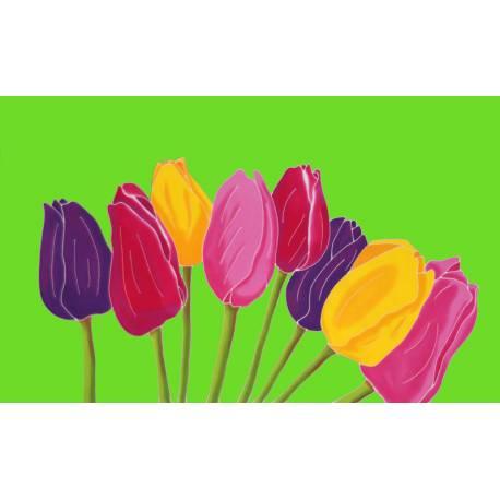 tulipe verte