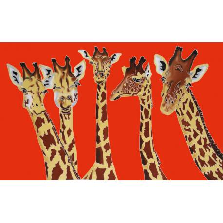 Girafe orange