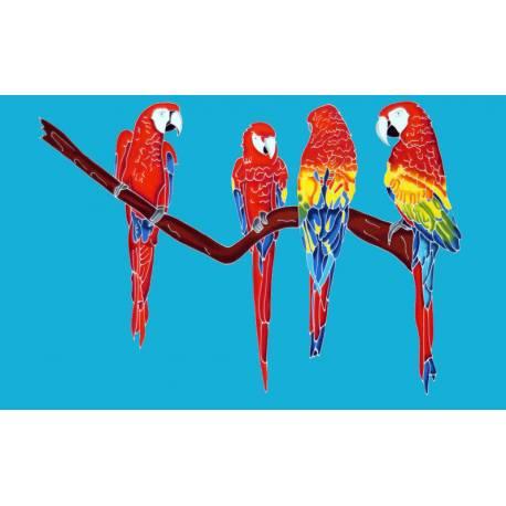 perroquet bleu