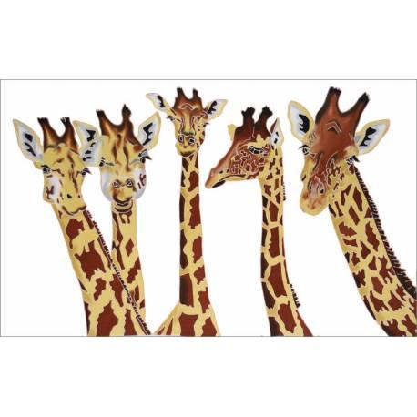 Girafe blanc